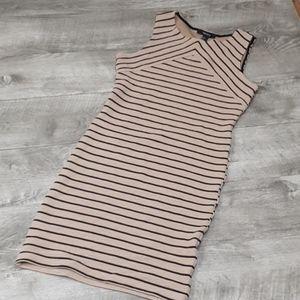 EUC Forever 21 Small striped bodycon dress